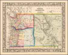 Map By Samuel Augustus Mitchell Jr.