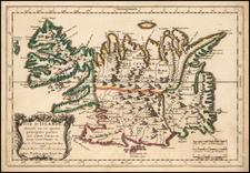 Iceland Map By Nicolas Sanson