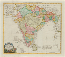 India Map By Thomas Kitchin