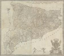 Spain Map By Josep Aparici