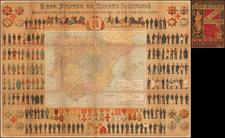 Spain Map By Modesto Eraso Prados / Jose Alfaro y Servan