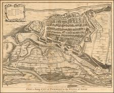 Italy Map By Paul de Rapin de Thoyras