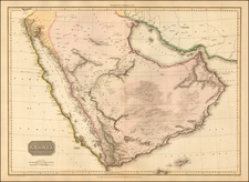 Middle East and North Africa Map By John Pinkerton