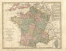 Europe and France Map By Robert Wilkinson
