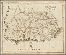 South and Southeast Map By Joseph Scott