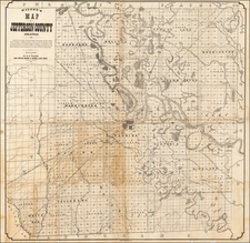 South and Arkansas Map By W. H. D.  Wilson