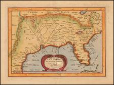 La Floride . . . 1657 By Nicolas Sanson