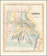 Midwest, Plains and Missouri Map By Fielding Lucas Jr.