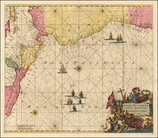 Mexico, Central America and South America Map By Louis Renard