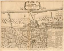 Other French Cities Map By Paul de Rapin de Thoyras