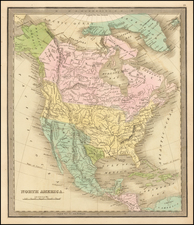 North America Map By Jeremiah Greenleaf
