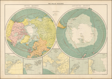 Polar Maps Map By George Philip & Son