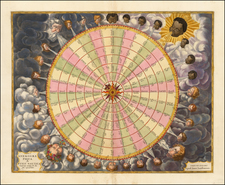 Curiosities and Celestial Maps Map By Jan Jansson