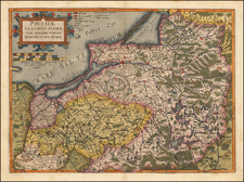 Poland and Baltic Countries Map By Cornelis de Jode