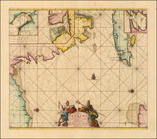 Florida and Cuba Map By Johannes Van Keulen