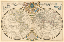 World Map By Philippe Buache