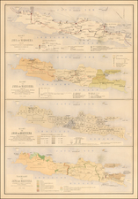 Southeast Asia and Other Islands Map By J.W. Stemfoort