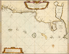 Other Islands and South America Map By Arent Roggeveen / Jacobus Robijn
