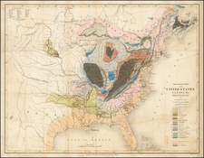 United States Map By John Murray