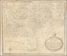 United States, Mid-Atlantic, South, Southeast and Midwest Map By Amos Doolittle / Joseph Purcell