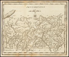 Pennsylvania Map By Joseph Scott