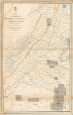 Mid-Atlantic and Southeast Map By U.S. War Department