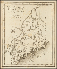 Maine Map By Joseph Scott