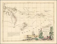 Nuove Scoperte Fatte nel 1765, 67 e 69 nel Mare Del Sud . . . . 1776 By Antonio Zatta