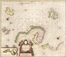 Scandinavia and Iceland Map By Arnold Colom
