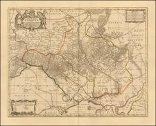 Russia and Ukraine Map By Peter Schenk  &  Gerard Valk