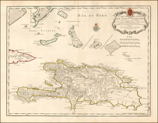 Caribbean Map By Philippe Buache