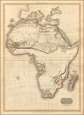 Africa and Africa Map By John Pinkerton