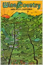 California Map By Earl Thollander