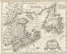 New England and Canada Map By John Gibson