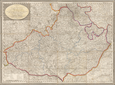 Germany Map By Artaria & Co.
