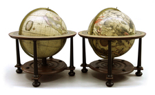World, Globes & Instruments and Celestial Maps Map By Gerard Valk