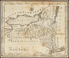 New York State Map By Joseph Scott