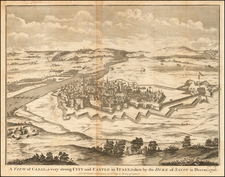 A View of Casal, a very strong City and Castle in Italy, taken by the Duke of Savoy in Decemr. 1706. By Paul de Rapin de Thoyras