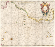 West Africa and African Islands, including Madagascar Map By Arnold Colom