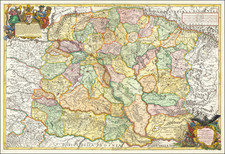 Hungary and Balkans Map By Giacomo Giovanni Rossi