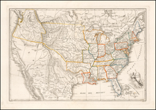 United States Map By Galiani