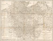 Germany Map By Adam Gottlieb Schneider