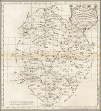 British Isles Map By Henry Beighton