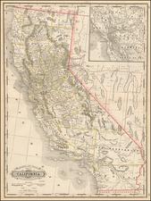 California Map By George F. Cram
