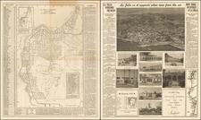 San Diego Map By La Jolla Printing Company