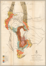 Plains and Rocky Mountains Map By United States Bureau of Topographical Engineers