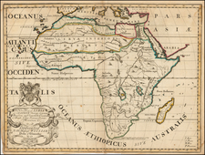 A New Map of Libya or old Africk Shewing it's General Divisions, most remarkable Countries or People, Cities, . . . &c. Dedicated to his Highness William Duke of Glocester By Edward Wells