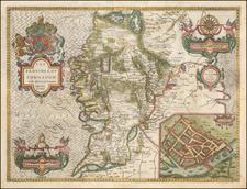 Ireland Map By John Speed