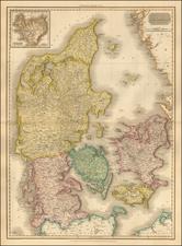 Denmark Map By John Pinkerton