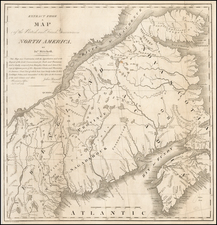 New England and Canada Map By S. L. Dashiell
